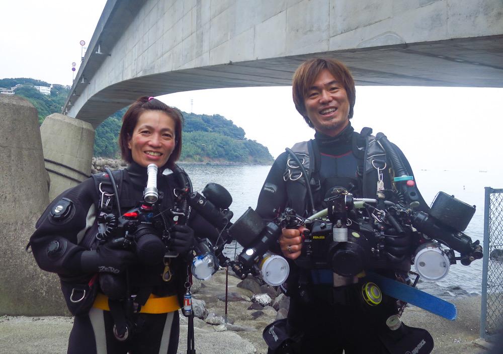 水中写真 ダイビング 講習 デジカメ 撮り方 インストラクター