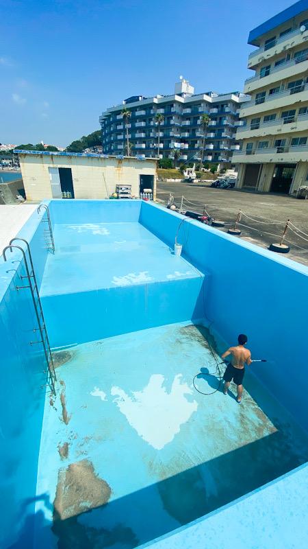 逗子 小坪 ビーチ ダイビング プール