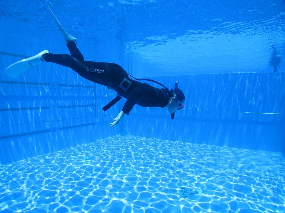神奈川 スキンダイビング プール 講習