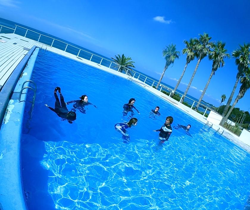 スキンダイビング 神奈川 スクール 講習 プール