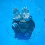 三戸浜 バブルリング スキンダイビング プール