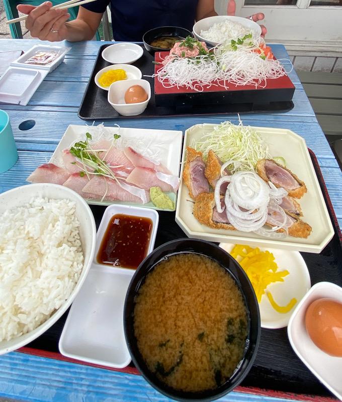 ゆうき食堂 逗子 ランチ 海鮮