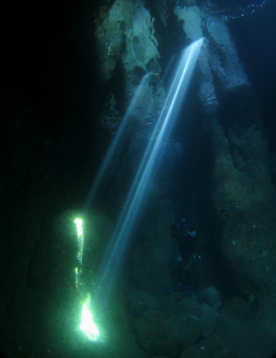 伊豆 洞窟 ダイビング 黄金崎ドーム ポイント カバーン 安良里
