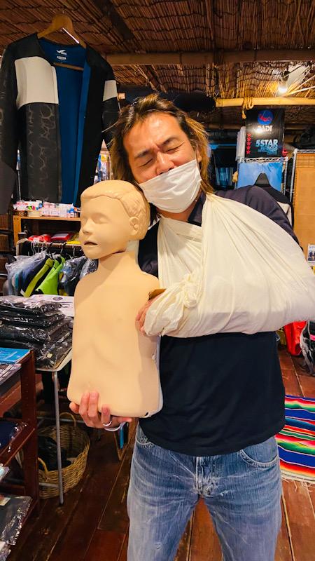 応急処置 EFR PADI CPR AED 救急 心肺蘇生