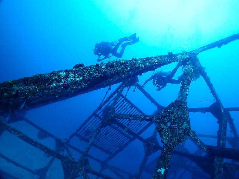 ダイワハウス 初島 ダイビング 漁礁