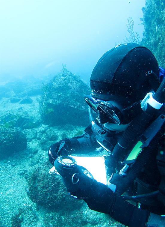 PADI ナビゲーション ダイビング SPコース