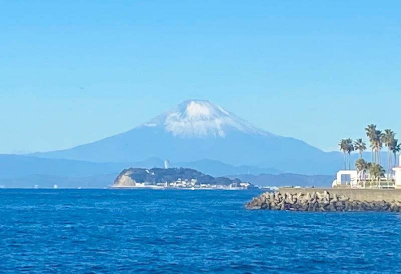 2021 富士山 江の島