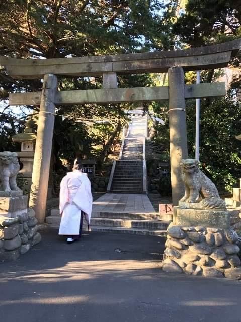 大瀬崎 ダイビング お祓い 神社