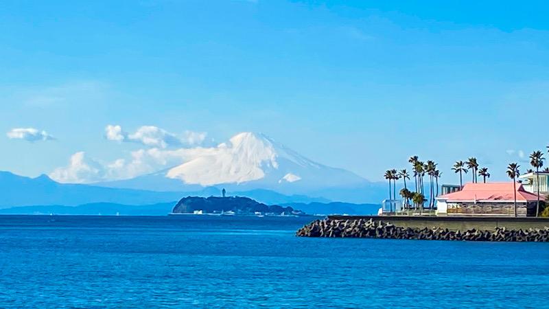 立春 富士山 湘南 江の島 ダイビング