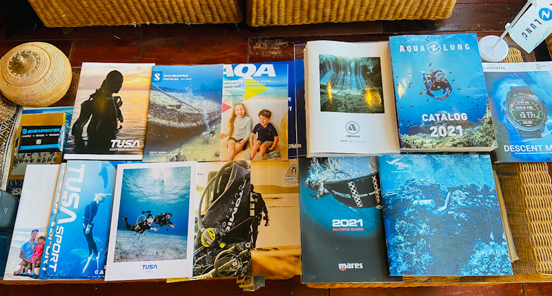 2021年 ダイビング ギア カタログ
