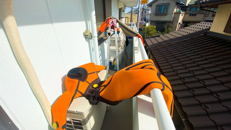 鎌倉 大船 ダイビングショップ ラウト ドライスーツ