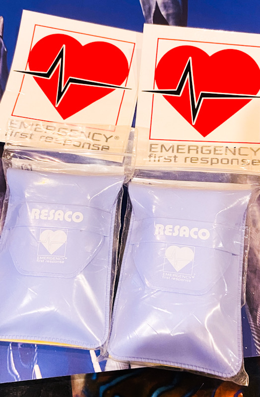EFR 人工呼吸 バリア マウスシート 応急処置 CPR