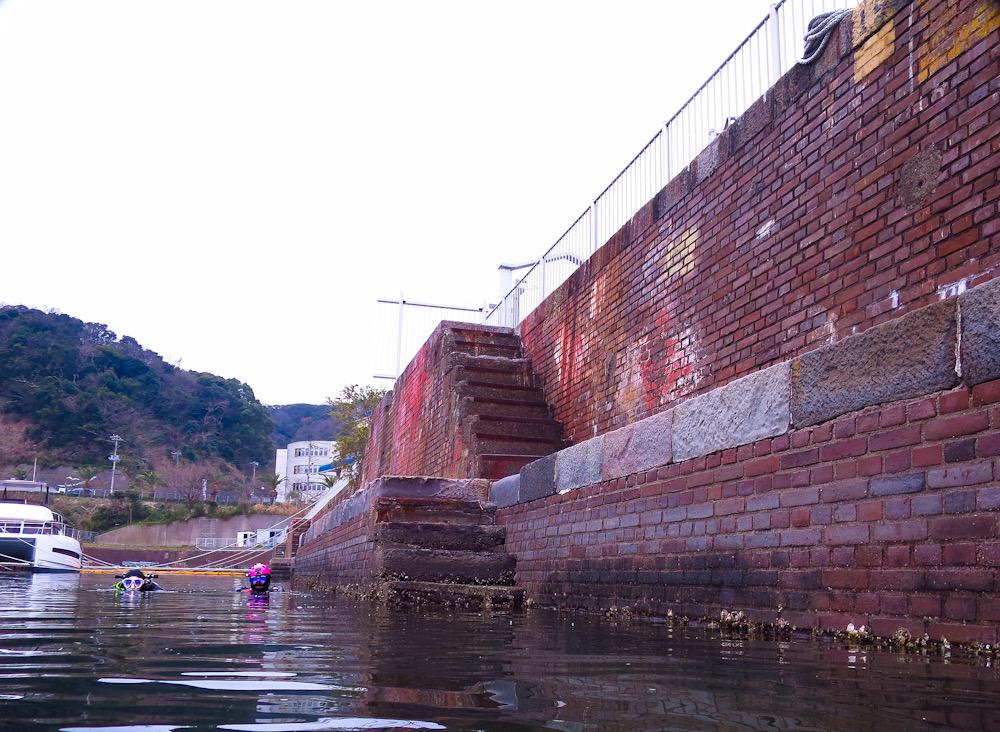 川間ドック 浦賀 ドライドック ダイビング