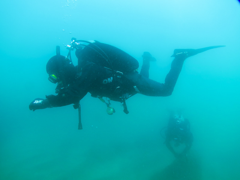 OMS ダイビング 中性浮力