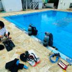 ビーチバム ダイビング プール 貸切 オープンウォーターダイバー