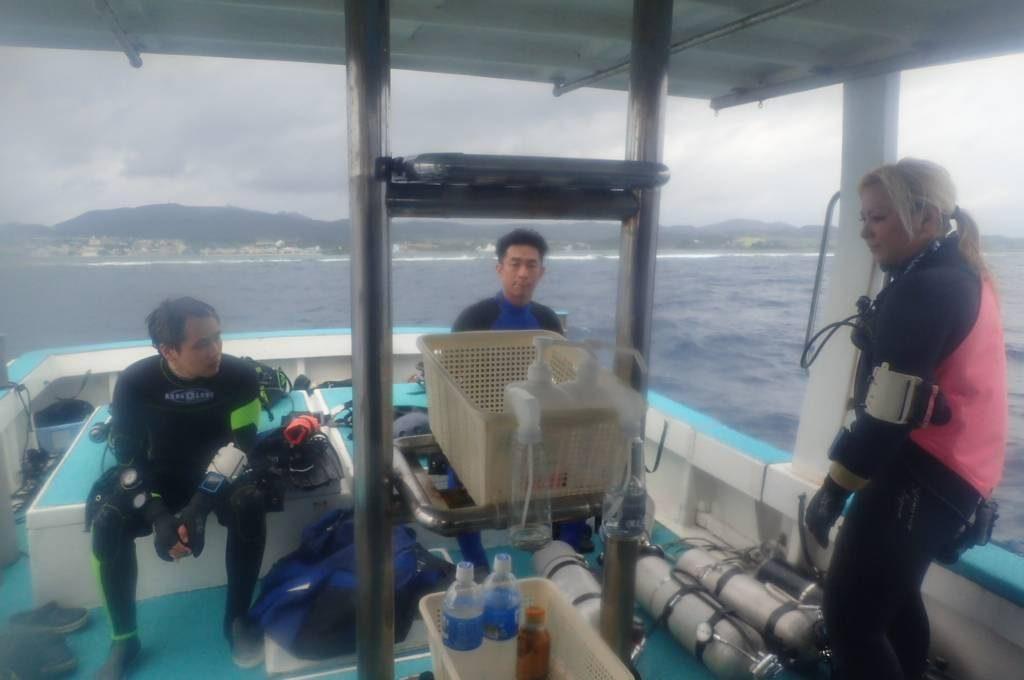 久米島 ヒデンチガマ ケーブダイビング