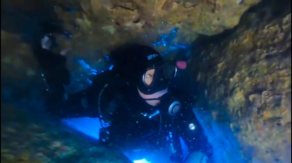 雲見 カバーン ダイビング 洞窟 トレーニング