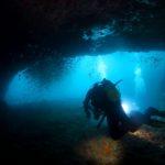 田子 ダイビング 水中洞窟