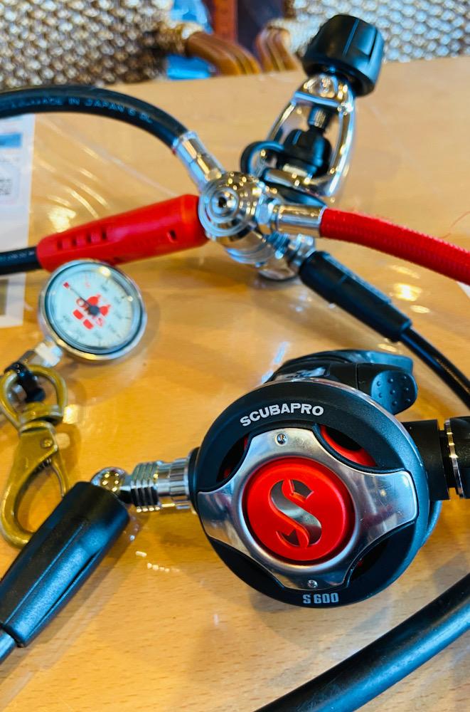 スキューバプロ Sプロ ダイビング レギュレーター