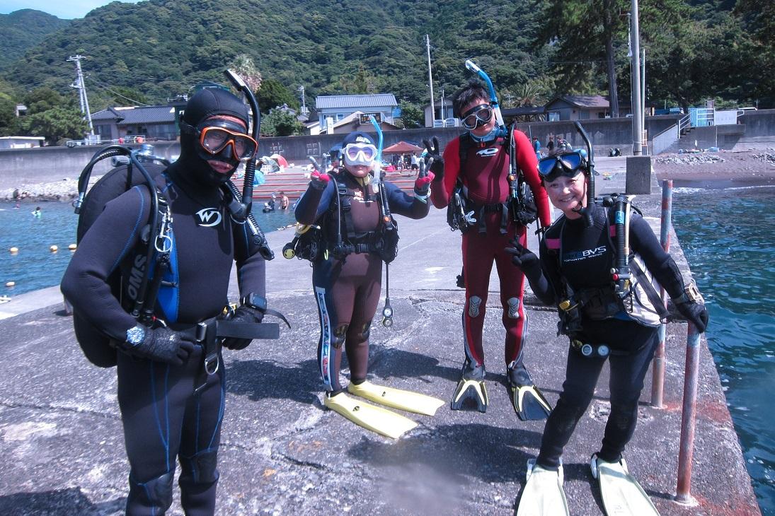 井田 ダイビング