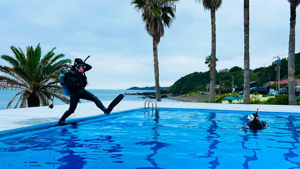 神奈川 ダイビング プール講習