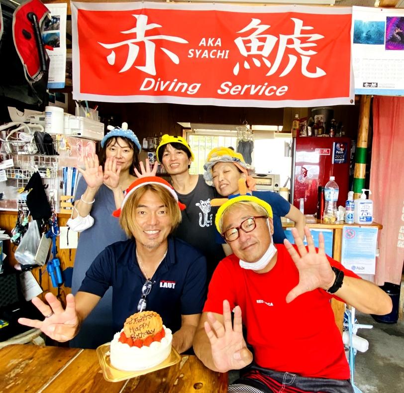 串本 ダイビング 赤鯱