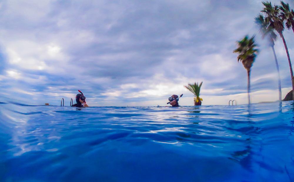 神奈川 スキンダイビング プール講習